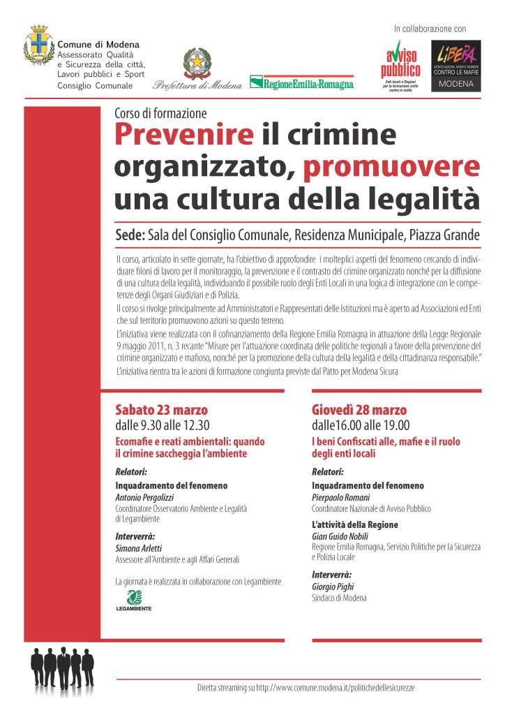 Corso di formazione contrasto mafie marzo 2013_Pagina_1