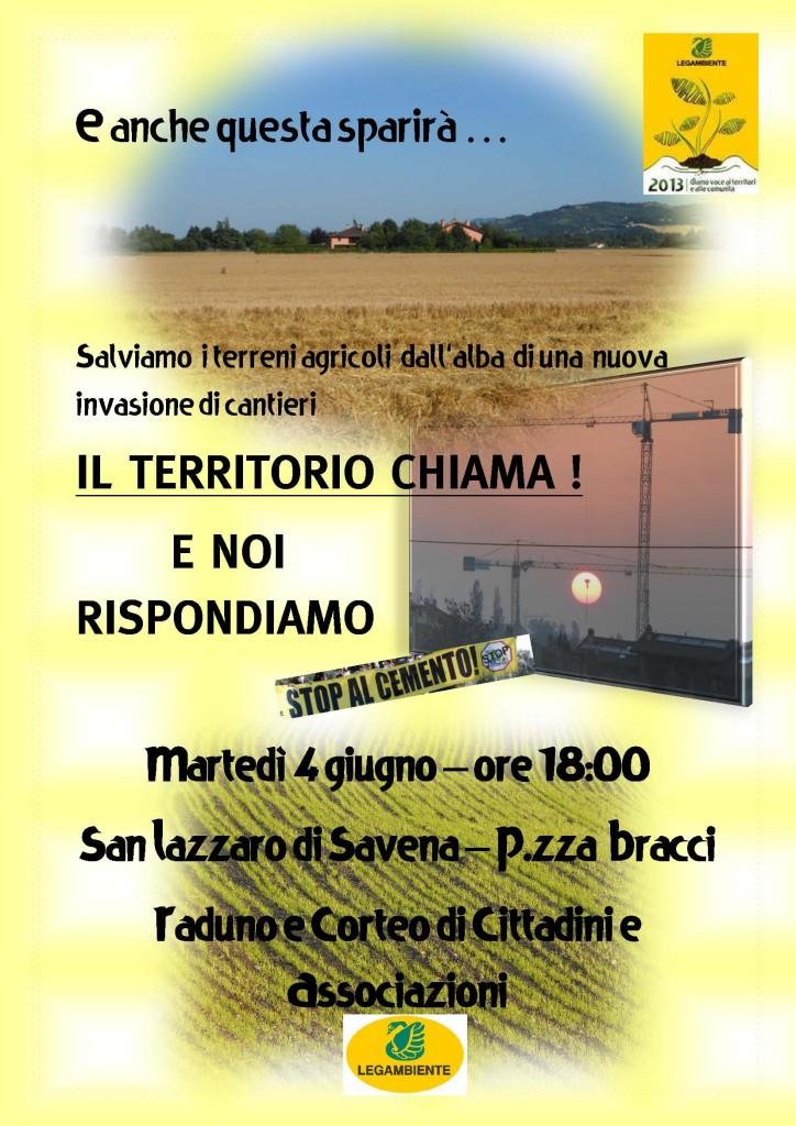 Volantino 4 giugno 2013 - San Lazzaro