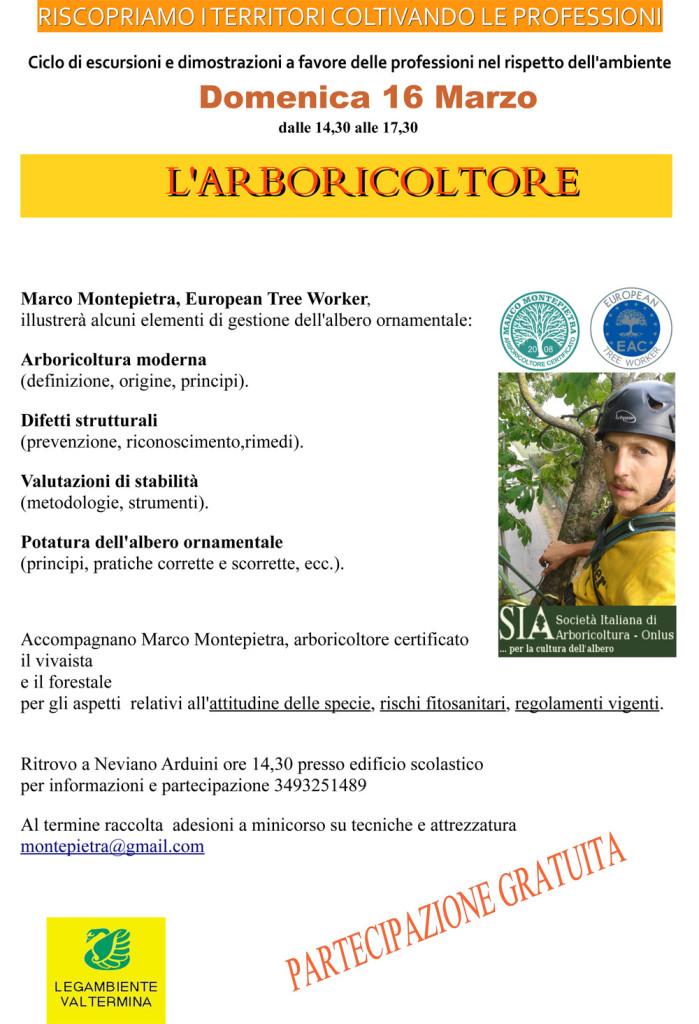 iniziativa su arboricoltura