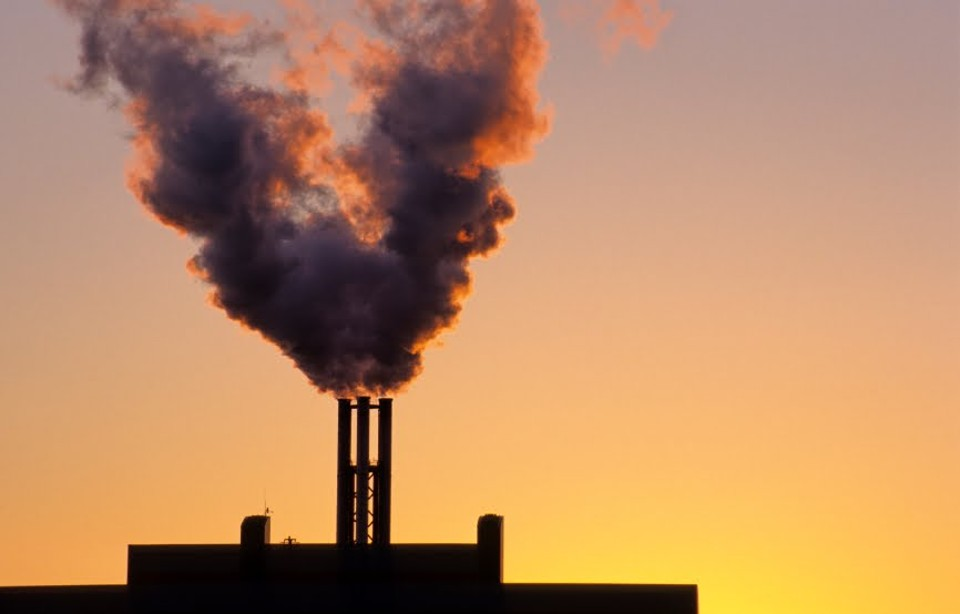 pollution and carbon dioxide