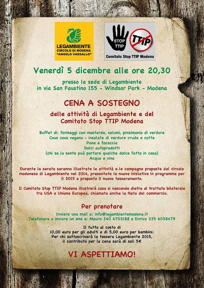 cena sociale 2014-12-05