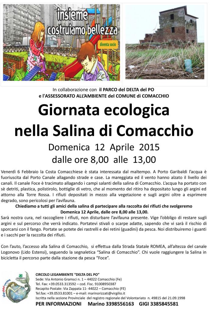 Volantino - Salina Giornata Ecologia - 001
