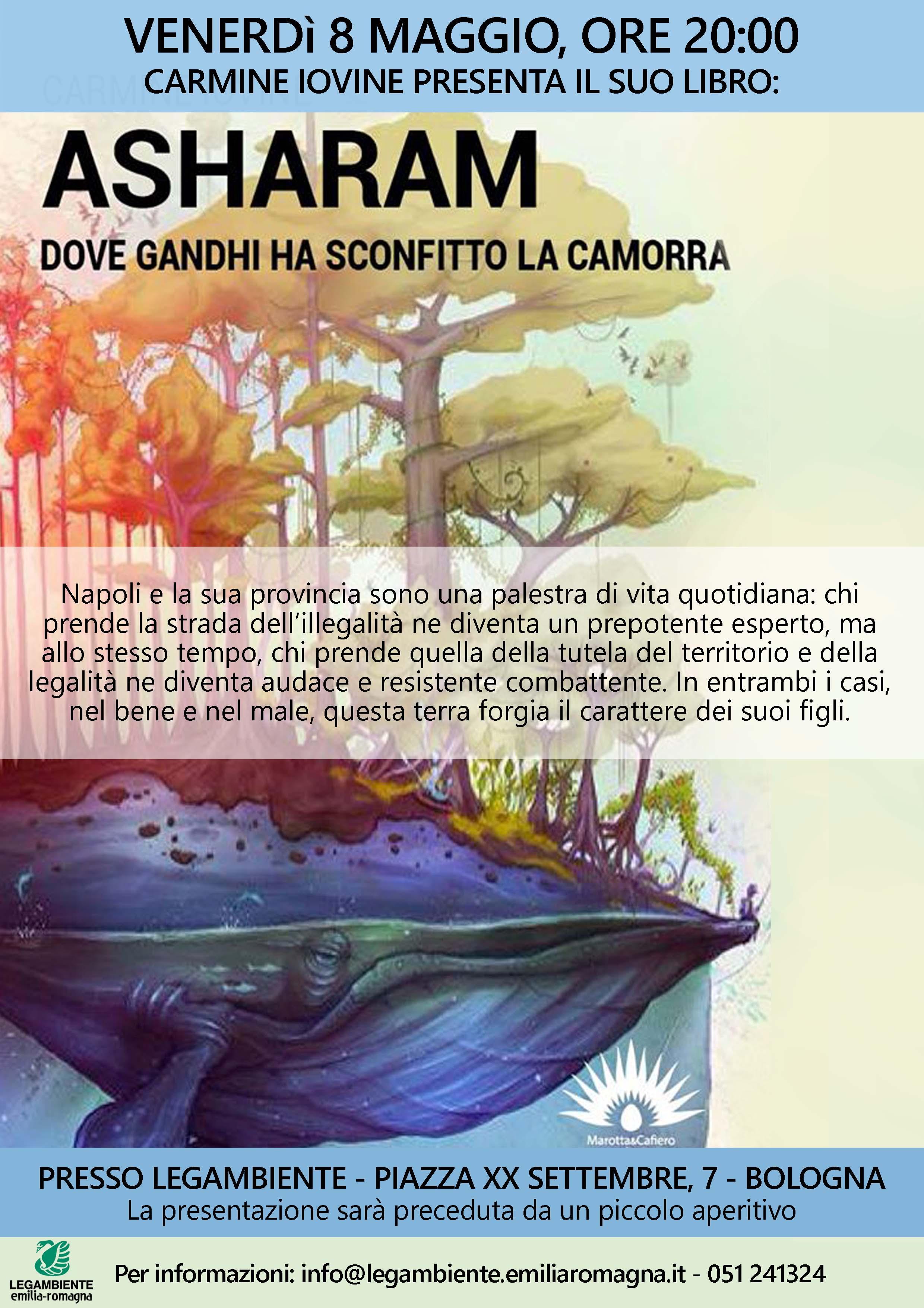 Presentazione del libro asharam dove gandhi ha for Dove ha sede il parlamento italiano