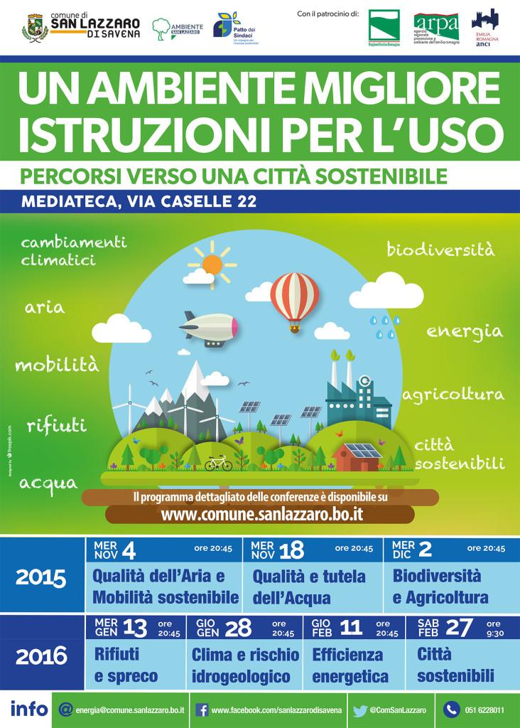 San Lazzaro Sostenibile_locandina A2 stampa