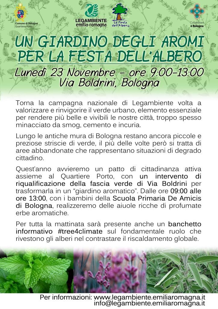 Volantino Festa albero2015