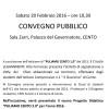Volantino-Locandina Convegno PULIAMO CENTO in Sala Zarri