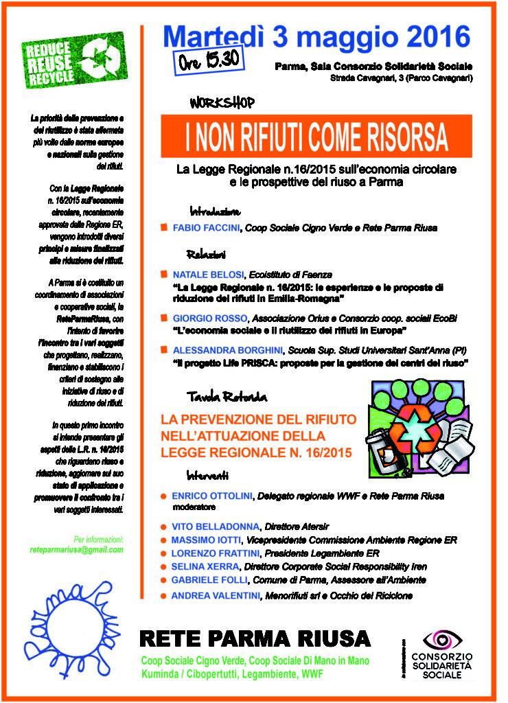 Workshop Riuso