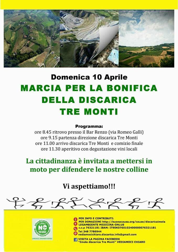 marcia discarica 10-04-16 vol