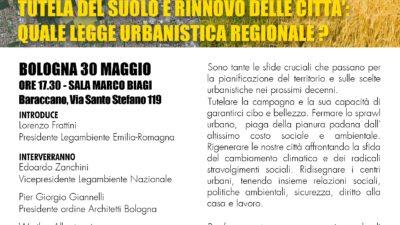 Appuntamento Legambiente legge urbanistica_Bologna