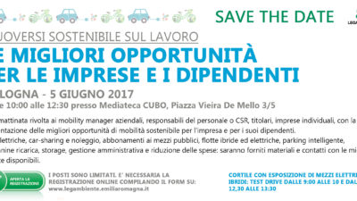SAVE THE DATE_Mobilità sostenibile Bologna