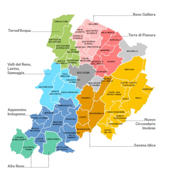 Provincia Bologna Cartina.Le Nostre Osservazioni Al Ptm Della Citta Metropolitana Di Bologna Legambiente Emilia Romagna Aps